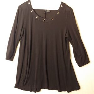 New directions size small black blouse